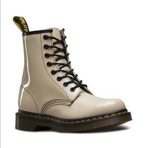 Off-white Dr. Martens 1460 boot size 8